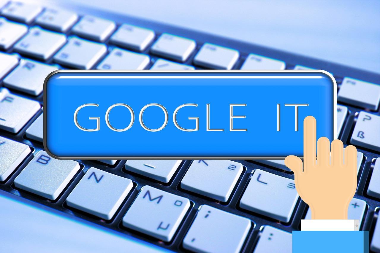 keyboard, hand, google