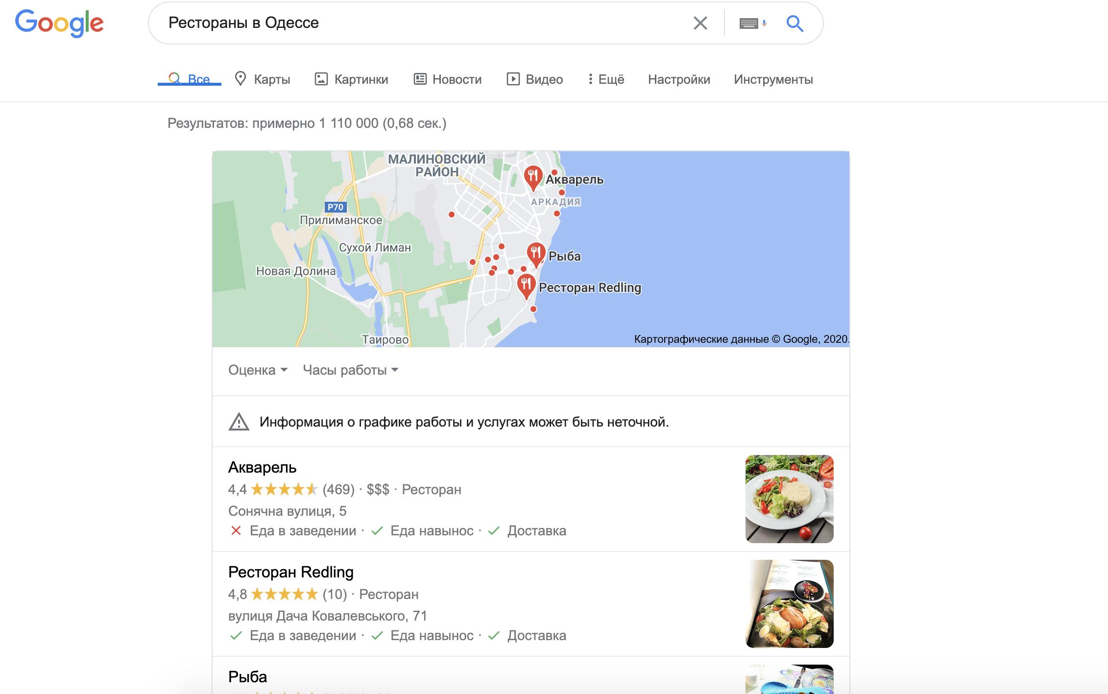 Google My Business будет иметь важное значение для местного SEO